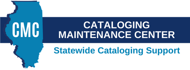 CMC - Cataloging Maintenance Center - Statewide Cataloging Support.